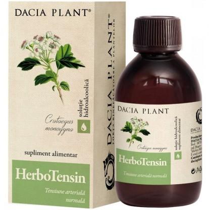 HerboTensin (Reglator al tensiunii) tinctura 200ml Dacia Plant