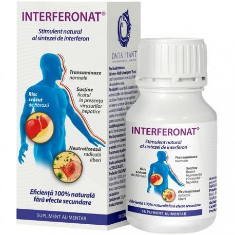 Interferonat (regenerare hepatica) 120 comprimate Dacia Plant
