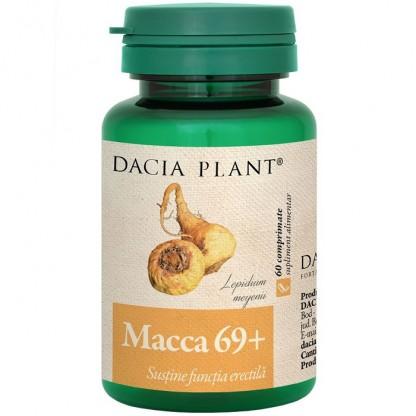 Macca 69+ (sustine functia erectila) 60 comprimate Dacia Plant