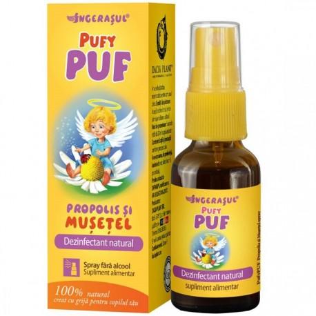 Pufy Puf Propolis si Musetel (spray) 20ml Dacia Plant