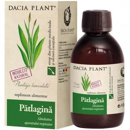 Sirop de patlagina (sanatatea aparatului respirator) 200ml Dacia Plant