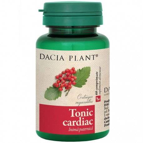 Tonic cardiac (inima puternica) 60 comprimate Dacia Plant