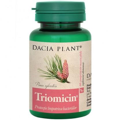 Triomicin (protectie impotriva bacteriilor) 60 comprimate Dacia Plant