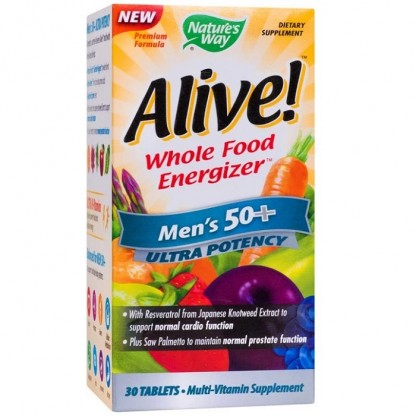 Alive Men 50+ Ultra (sanatatea prostatei) 30 tablete Nature'S Way