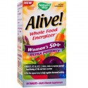 Alive Women 50+ Ultra (ajutor in menopauza) 30 tablete Nature'S Way