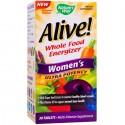 Alive Women Ultra (necesar de energie) 30 tablete Nature'S Way