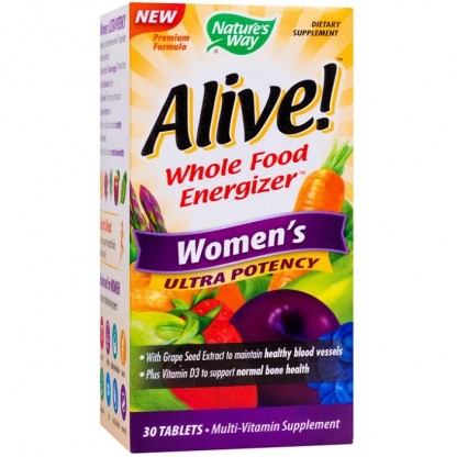Alive Women Ultra (necesar de energie) 30 tablete Nature'S Way