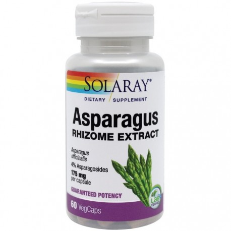 Asparagus (Sparanghel) 60 capsule vegetale Solaray