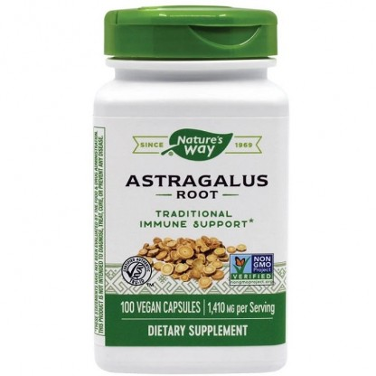 Astragalus 470mg 100 capsule vegetale Nature's Way