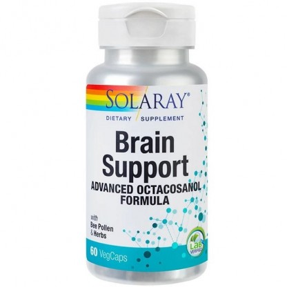 Brain Support 60 capsule vegetale Solaray