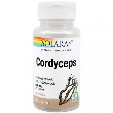 Cordyceps (ciuperca medicinala tibetana) 60 capsule vegetale Solaray