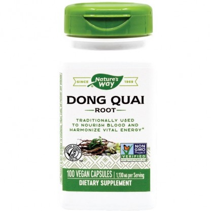 Dong Quai 565mg 100 capsule vegetale Nature's Way