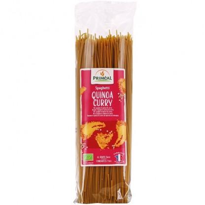 Spaghetti cu quinoa si curry BIO 500g Primeal