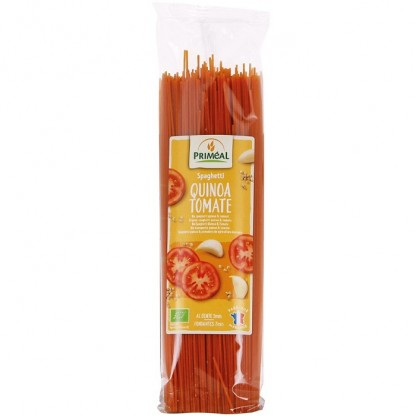 Spaghetti cu quinoa si tomate BIO 500g Primeal