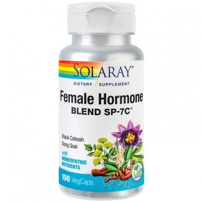 Female Hormone Blend (echilibrare hormonala) 100 capsule vegetale Solaray