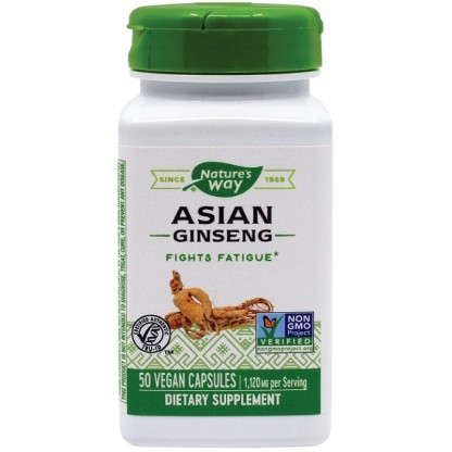 Ginseng Asian 560mg 50 capsule vegetale Nature's Way