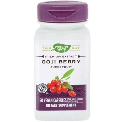 Goji Berry SE 60 capsule vegetale Nature's Way