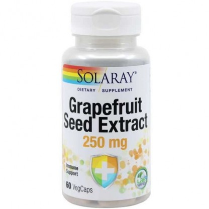 Grapefruit Seed Extract 250mg 60 capsule vegetale Solaray