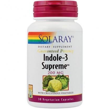 Indole-3 Supreme 30 capsule vegetale Solaray
