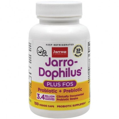 Jarro-Dophilus + FOS 100 capsule vegetale Jarrow Formulas
