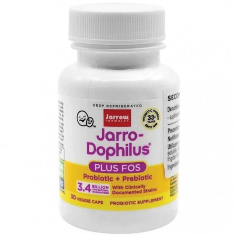 Jarro-Dophilus + FOS 30 capsule vegetale Jarrow Formulas