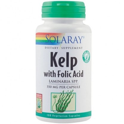 Kelp 550mg 100 capsule vegetale Solaray