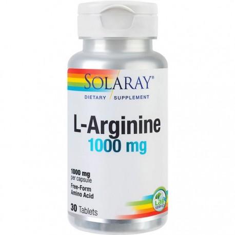 L-Arginine 1000mg 30 tablete RapidSolv Solaray