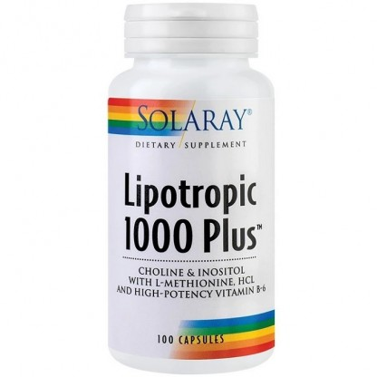 Lipotropic 1000 Plus 100 capsule Solaray