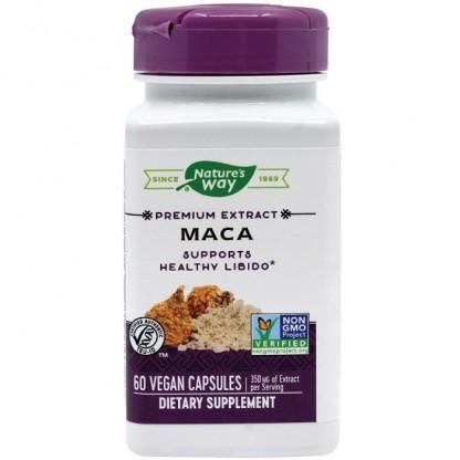 Maca SE (extract standardizat) 60 capsule vegetale Nature's Way