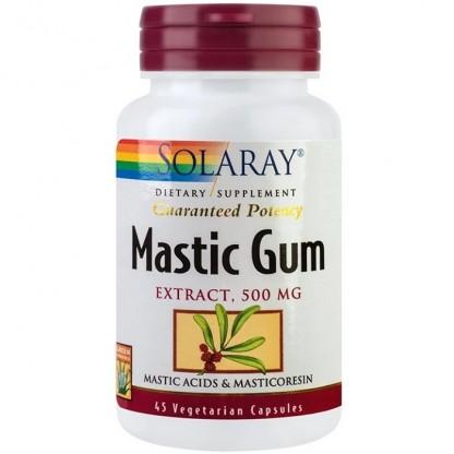 Mastic Gum (protector gastric) 500mg 45 capsule vegetale Solaray