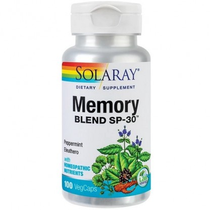 Memory Blend 100 capsule vegetale Solaray