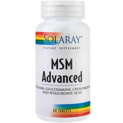 MSM Advanced Tablets 60 tablete ActivTab Solaray
