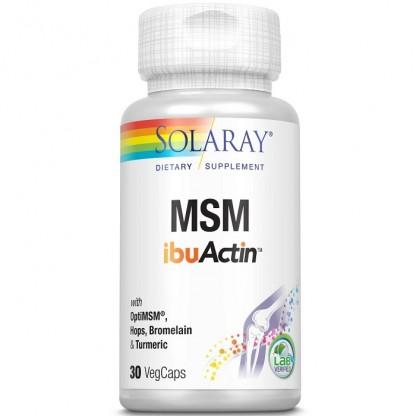 MSM ibuActin 30 capsule vegetale Solaray