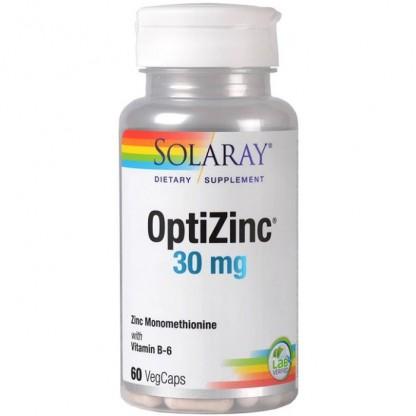 OptiZinc 30mg 60 capsule vegetale Solaray