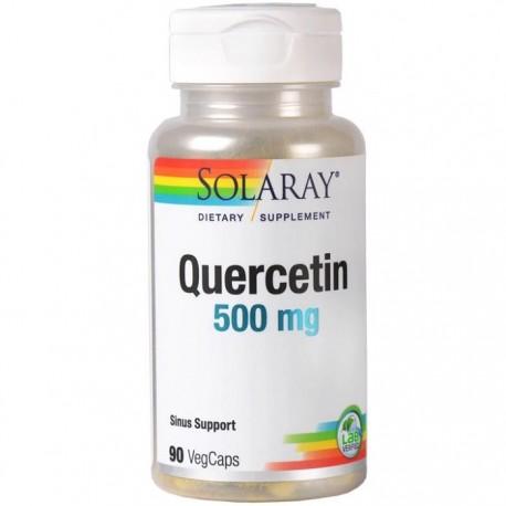 Quercetin (antioxidant natural) 500mg 90 capsule vegetale Solaray