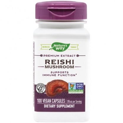 Reishi (Ganoderma) SE 188mg 100 capsule vegetale Nature's Way