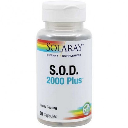 SOD 2000 (super Oxid Dismutaza) Plus 60 capsule Solaray