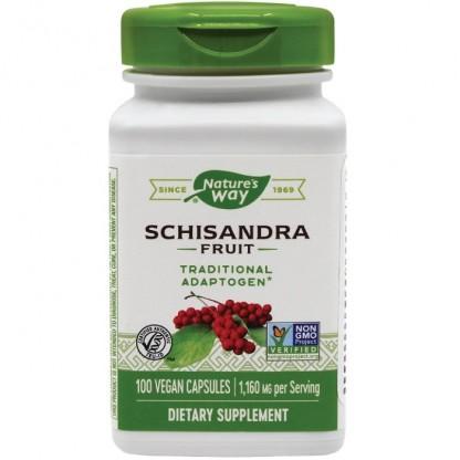 Schisandra 580mg 100 capsule vegetale Nature's Way