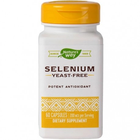 Selenium 200mcg 60 capsule Nature's Way