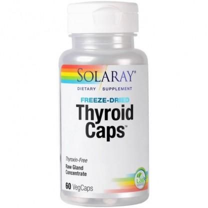Thyroid Caps 60 capsule vegetale Solaray