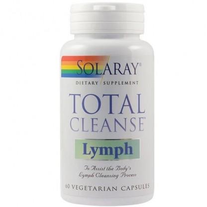 Total Cleanse Lymph (sanatatea vasculara) 60 capsule vegetale Solaray