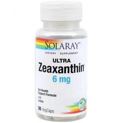Ultra Zeaxanthin (sanatate oculara) 30 capsule vegetale Solaray