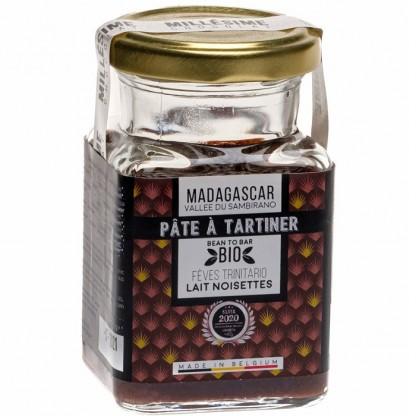 Crema de ciocolata neagra belgiana artizanala, Guatemala eco 150g Millesime