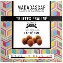 Trufe de ciocolata belgiana cu praline, artizanale, Madagascar eco 75g Millesime