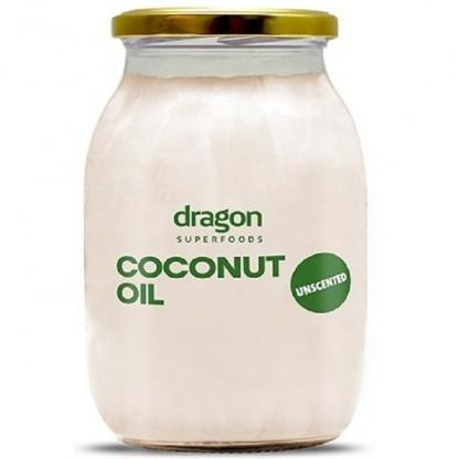 Ulei de cocos dezodorizat bio 1000 ml Dragon Superfood