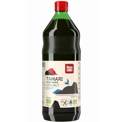 Sos de soia Tamari BIO cu continut redus de sare 250ml Lima BIO Food