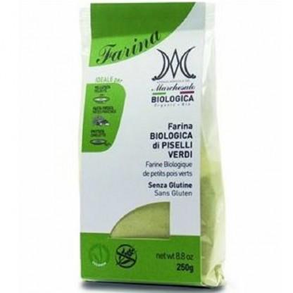Faina de mazare verde fara gluten eco 250g Marchesato