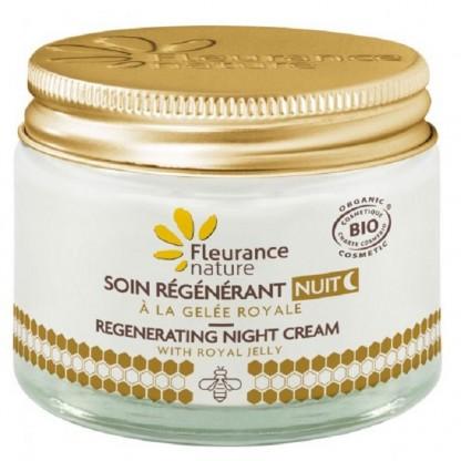 Crema de noapte regeneranta cu laptisor de matca 50ml Fleurance Nature