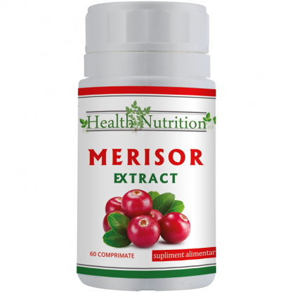 Merisor Extract 2400 mg 60 comprimate Health Nutrition