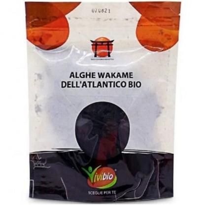 Alge Wakame bio din Atlantic 30g Vivibio
